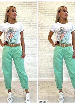 Женские брюки джинсы. 42-52р
