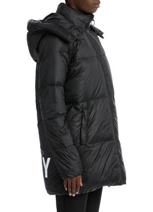 Новый пуховик одеяло dkny (парка, куртка) 90% пух оригинал l-48, s-44 трансформер (жилет)
