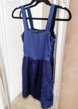 Атласное платье для девочки 12-13 лет от gap