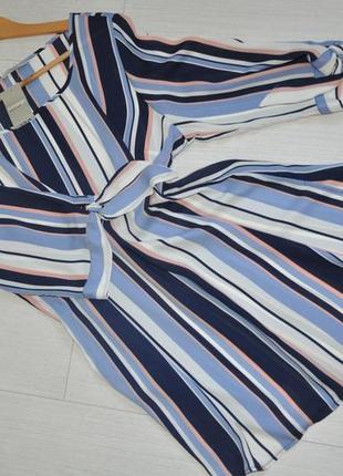 Трендовое платье, туника в вертикальную полоску george