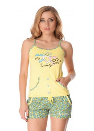 Пижама с шортиками