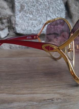 Christian dior очки оригинал винтаж коллекционные gucci louis vuitton fendi