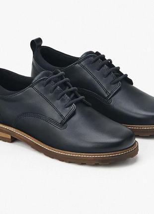 Кожаные туфли zara, размеры 36,37,38