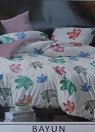 Комплект постельного белья из фланели евро размер!