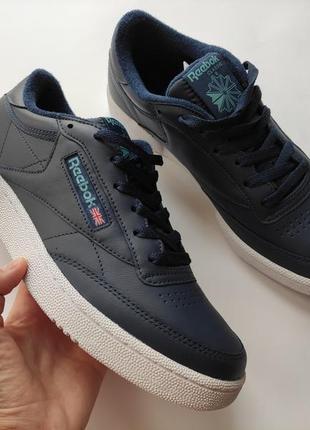 Reebok club c 85 кроссовки мужские кросівки чоловічі original оригинал