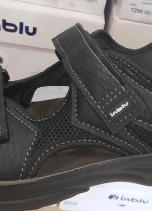 Спортивные сандалии на липучках мужские