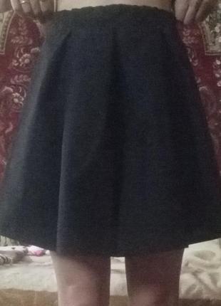 Школьная легкая юбочка.