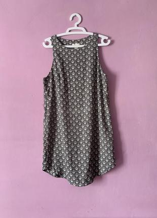 Красивое новое платье рыбьи чешуйки свободное трапецевидный крой