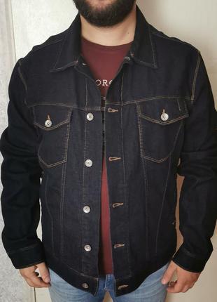 Джинсовая куртка geox xl 52-54