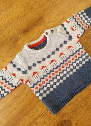 Стильный свитер кофта mark @ spencer