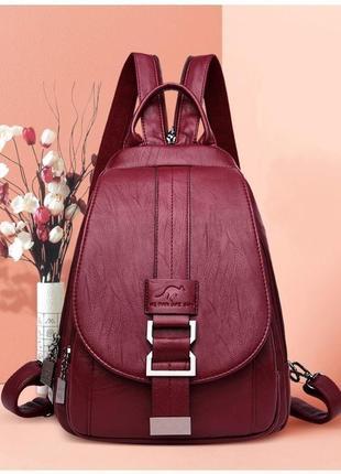 Стильный женский рюкзак/сумка эко кожа. 2в1.