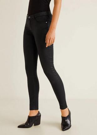 Черные джинсы от mango, 44р, оригинал, испания