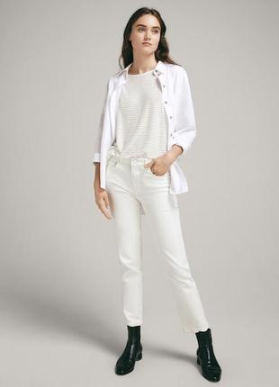 Белая джинсовая рубашка lee, оригинал, сша