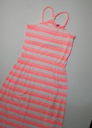 Платье сарафан яркий стильный миди на рост 146-165