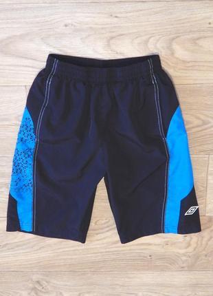 Спортивные шорты umbro 10-11 лет, 140-146 см