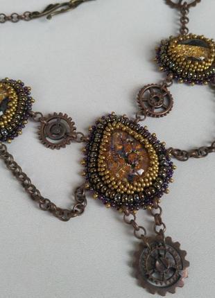 Ожерелье колье стимпанк steampunk