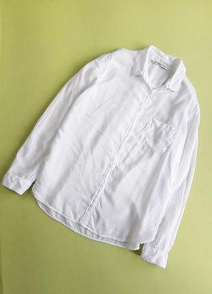 Шикарная белая рубашка от zara