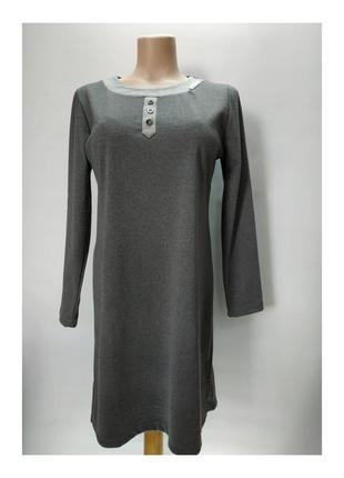 Домашнее платье с длинными рукавами viperia