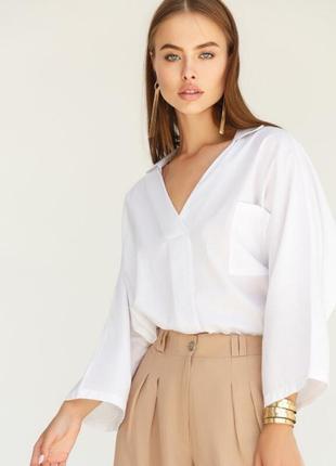 Хлопковая блуза oversize