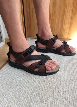 Timberland кожаные сандалии шкіряні сандалі