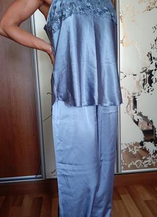 Красивейшая голубая пижама