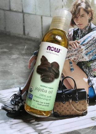Натуральное масло жожоба для волос и тела