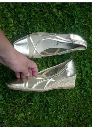 Италия кожа туфли