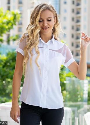 Класическая блуза