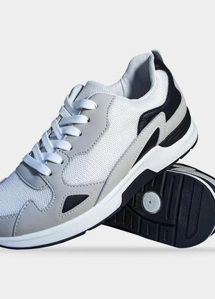 Стильные мужские кроссовки серые artin