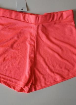 Фирменные женские шорты с высокой посадкой fabric. англия