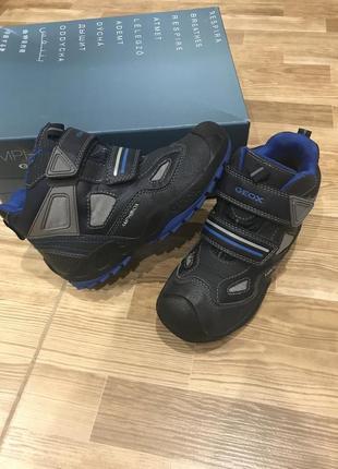 Зимние ботинки geox amphibox 31 р стелька 20,6