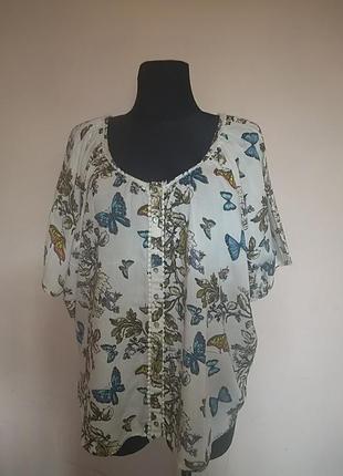 Блуза віскоза 18uk