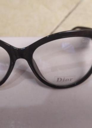 В стиле dior очки имидживые компьютерные очки