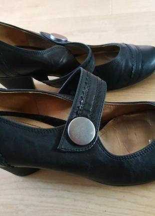 Шкіряні туфлі gabor 37-38