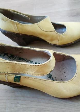 Шкіряні туфлі el naturalista 38-39