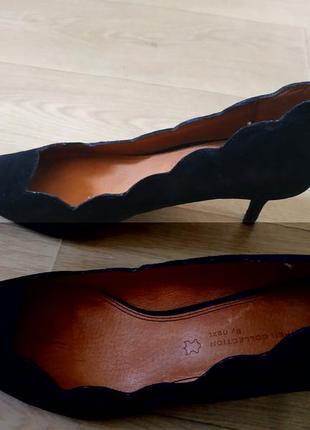 Замшеві туфлі 41-42