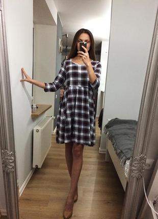 Мила сукня в клітинку atmosphere