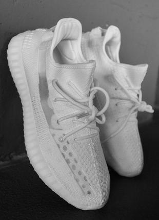 "Adidas yeezy boost 350 v2 ""triple/white"" 🆕 мужские кроссовки адидас 🆕 белый"