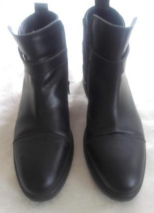 Ботинки кожа стелька 26