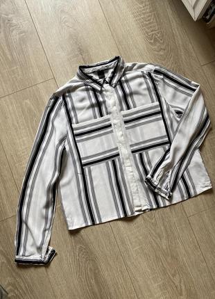 Укорочённая рубашка в плоску