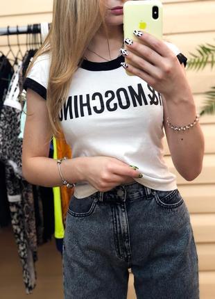 H&m moschino футболка оригинальная москино