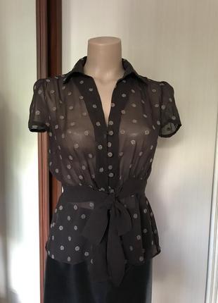 Блуза, натуральный шёлк