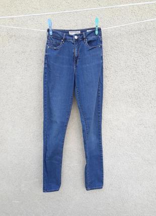 Мягкие джинсы высокая посадка