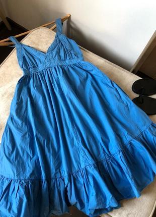 Объёмное платье в стиле бохо.