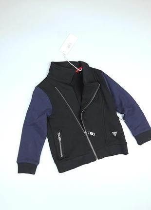 Кофта куртка косуха guess 2 года юдля мальчика