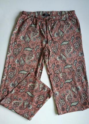 Брюки esmara свободные трикотажные, штаны для дома и отдыха