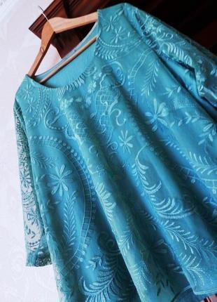 Marks&spenser кружевная блуза рубашка кофта, англія