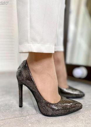 ❤ женские кожаные туфли лодочки  ❤