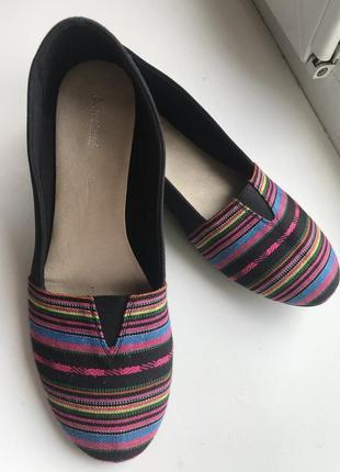 Эспадрильи мокасины балетки туфли