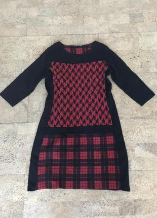 Платье, туника, в стиле burberry, betty barclay